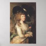 Thomas Gainsborough Lady Georgiana Cavendish Posters