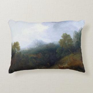 Thomas Gainsborough - Landscape with a Flock Decorative Pillow