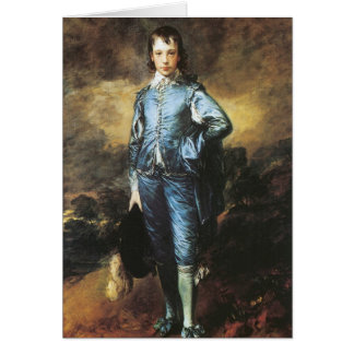 Thomas Gainsborough The Blue Boy Card