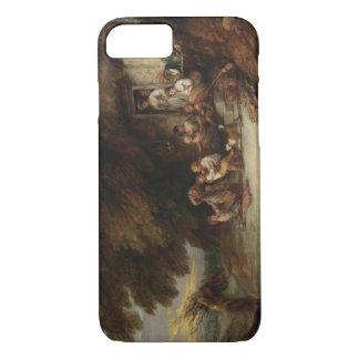 Thomas Gainsborough - The Cottage Door iPhone 7 Case