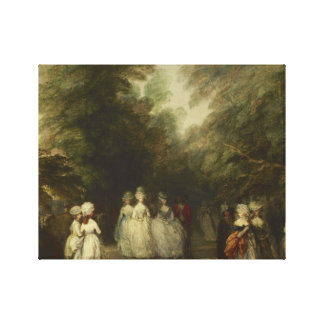 Thomas Gainsborough - The Mall in St. James's Park Canvas Print