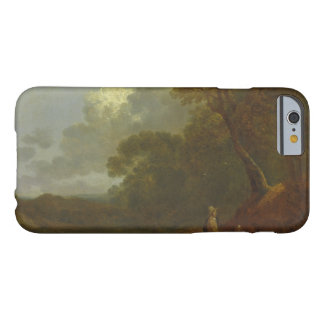 Thomas Gainsborough - Wooded Landscape with a Man Barely There iPhone 6 Case