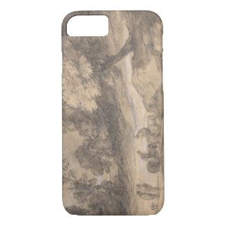 Thomas Gainsborough - Wooded Landscape with Figure iPhone 7 Case