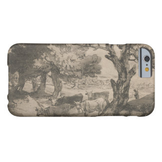 Thomas Gainsborough - Wooded Landscape with Herdsm Barely There iPhone 6 Case