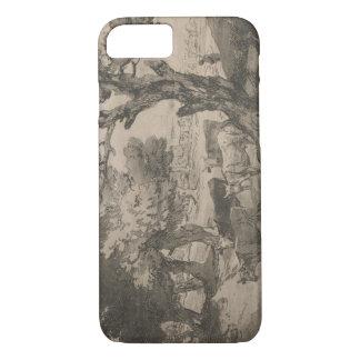Thomas Gainsborough - Wooded Landscape with Herdsm iPhone 7 Case