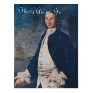 Thomas Graeme, Jr. Postcard
