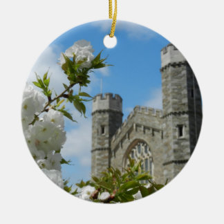 Thomas Great Hall Round Ceramic Ornament