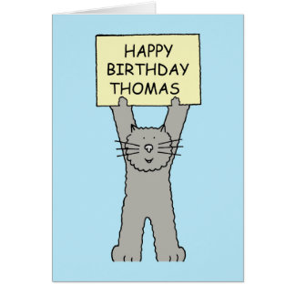 Thomas Happy Birthday Card