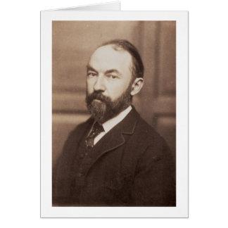Thomas Hardy (1840-1928) (sepia photo) Card