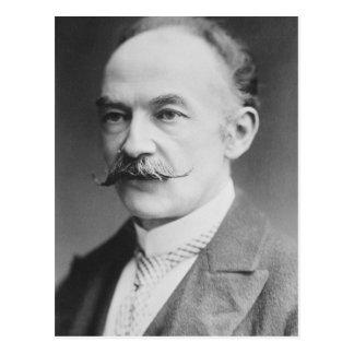 Thomas Hardy Black And White Portrait Postcard