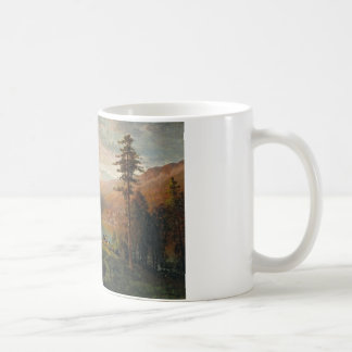 Thomas Hill - Indian by a Lake in a Majestic Coffee Mug