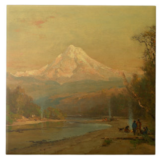 Thomas Hill - Indians of the Northwest Tile