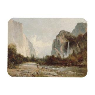Thomas Hill - Yosemite, Bridal Veil Falls Magnet