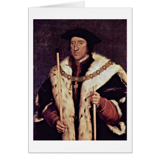 Thomas Howard By Hans Holbein The Younger Card