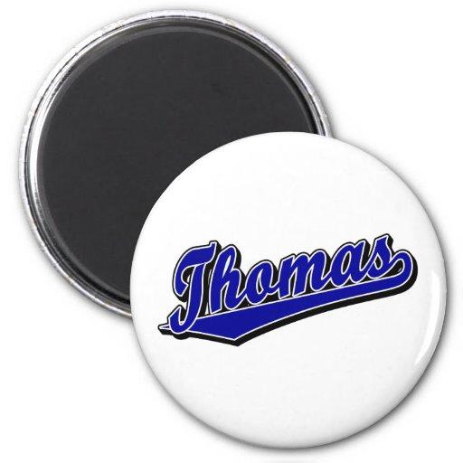 Thomas in Blue Fridge Magnet