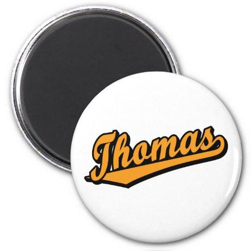 Thomas in Orange Magnets