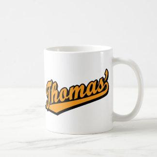 Thomas' in Orange Coffee Mug
