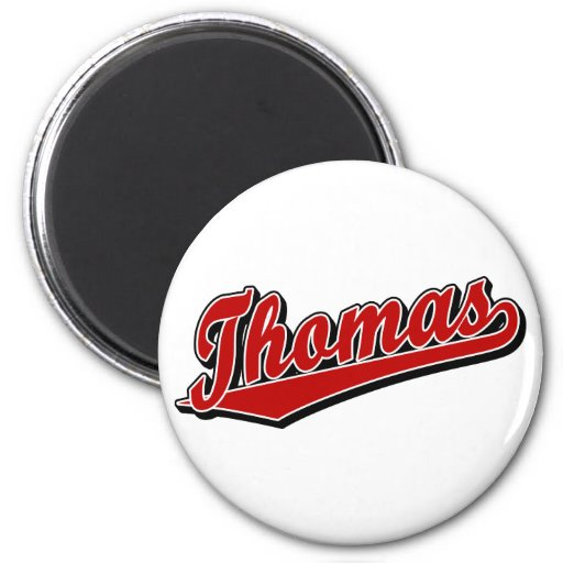 Thomas in Red Refrigerator Magnet