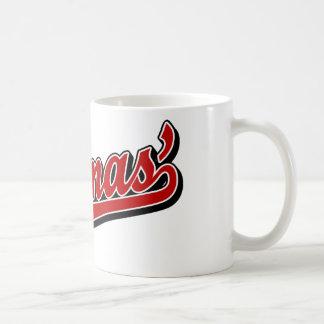 Thomas' in Red Coffee Mugs