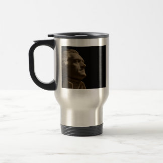 THOMAS JEFFERSON 15 OZ STAINLESS STEEL TRAVEL MUG