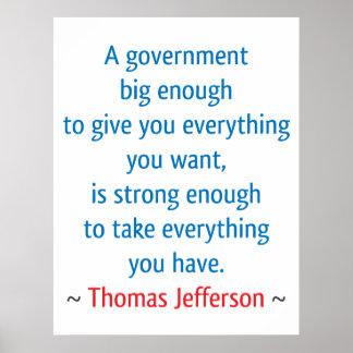 Thomas Jefferson #1 Poster
