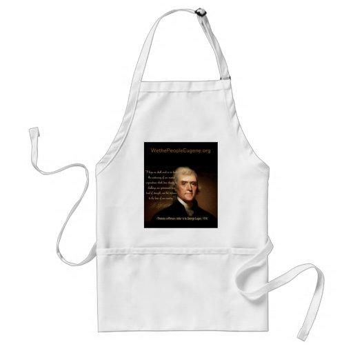 Thomas Jefferson Apron