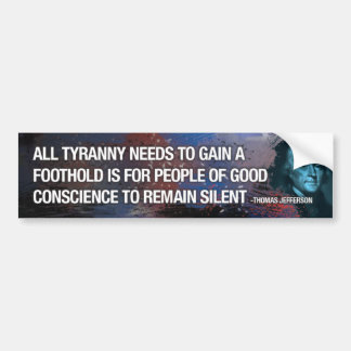 Thomas Jefferson Bumper Sticker