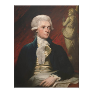 Thomas Jefferson by Mather Brown (1786) Canvas Print