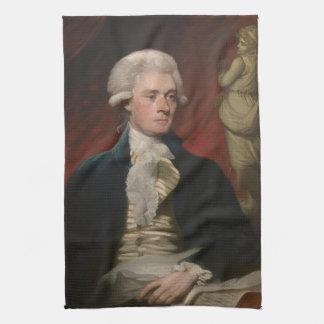 Thomas Jefferson by Mather Brown (1786) Kitchen Towel