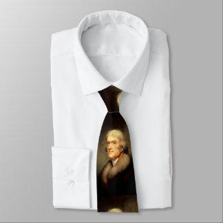 Thomas Jefferson by Rembrandt Peale - Circa 1805 Tie