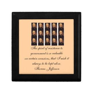 Thomas Jefferson catch all box Jewelry Box