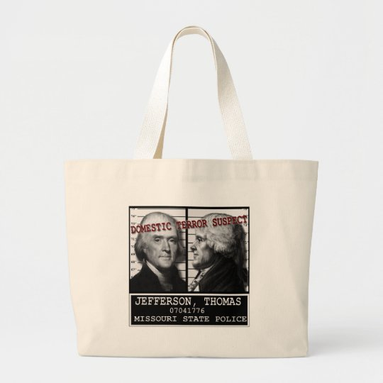 Thomas Jefferson Domestic Terror Suspect Bag