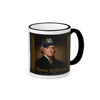 Thomas Jefferson FED UP Mug
