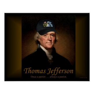 Thomas Jefferson FED UP Poster