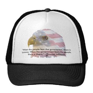 Thomas Jefferson Trucker Hat