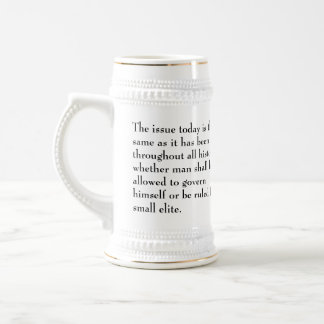 Thomas Jefferson Issue today is the same Beer Stein