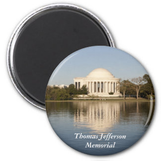 Thomas Jefferson Memorial 2 Inch Round Magnet