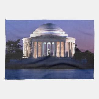 Thomas Jefferson Memorial at Dusk Hand Towel