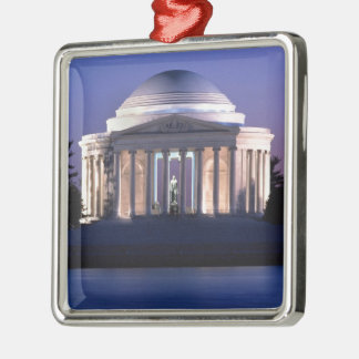 Thomas Jefferson Memorial at Dusk Metal Ornament