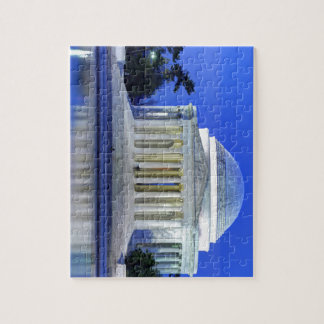 Thomas Jefferson Memorial At Night Jigsaw Puzzle