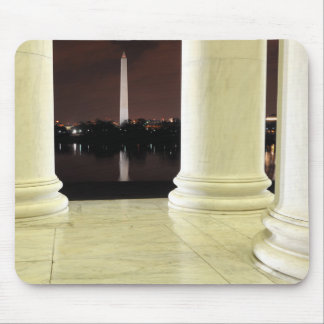 Thomas Jefferson Memorial At Night Mouse Pad