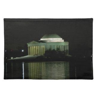 Thomas Jefferson Memorial at Night Place Mats