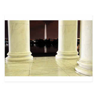 Thomas Jefferson Memorial At Night Postcard