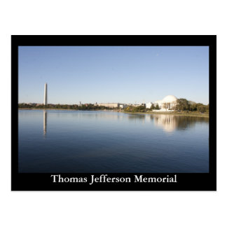 Thomas Jefferson Memorial Postcard