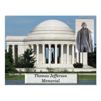 Thomas Jefferson Memorial - postcard