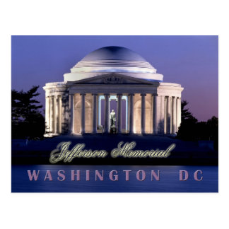 Thomas Jefferson Memorial, Washington, D.C. Postcard