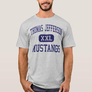 Thomas Jefferson - Mustangs - High - San Antonio T-Shirt