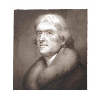 Thomas Jefferson Notepad
