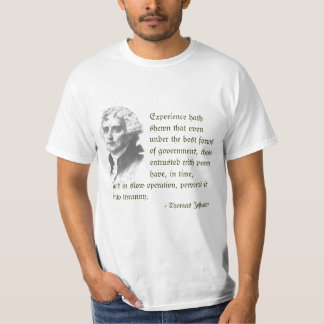 Thomas Jefferson on Liberty T-shirt