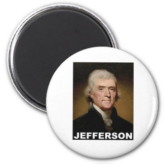 Thomas Jefferson picture 2 Inch Round Magnet